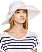 Aqua Ribbon Floppy Hat