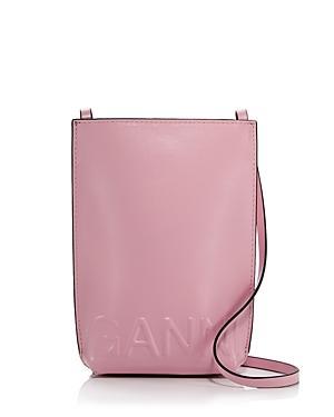 Ganni Recycled Leather Shoulder Bag