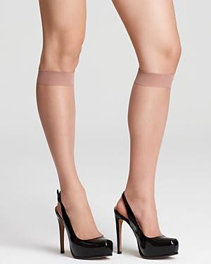 Donna Karan Nude Knee-highs