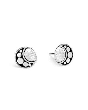 John Hardy Sterling Silver Dot Hammered Stud Earrings