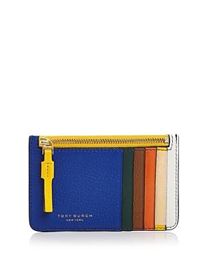 Tory Burch Perry Color-block Card Case