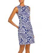 Adam Lippes Printed Sheath Dress