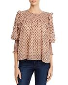Joie Jamila Embroidered Top