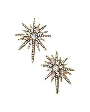 Baublebar Genesis Pave Starburst Stud Earrings