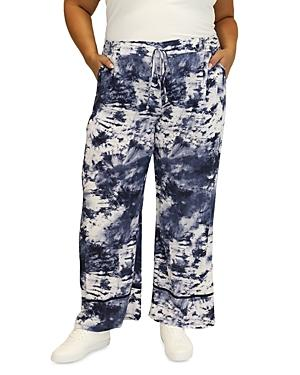 Maree Pour Toi Plus Tie Dyed French Terry Pants