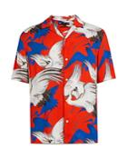 Allsaints Roost Print Hawaiian Shirt