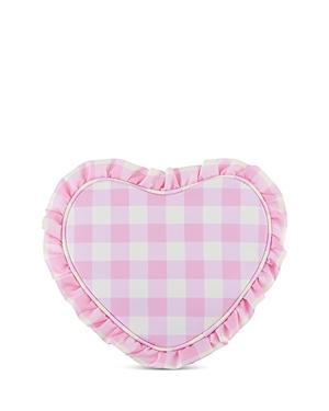 Stoney Clover Lane Ruffle Heart Pouch