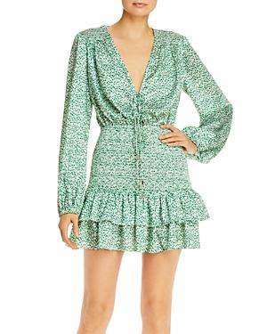 Significant Other Hedi Printed Smocked Dress