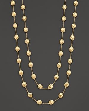 Marco Bicego Siviglia Collection Large Bead Gold Necklace, 36