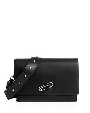 Allsaints Nancy Large Leather Crossbody Box Bag