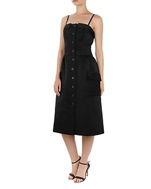 Ted Baker Octovia Ribbed Midi Dress