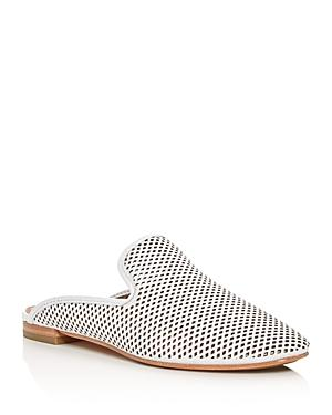 Frye Gwen Perforated Leather Mules