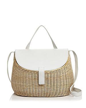 Zacarias Creel Wicker Shoulder Bag