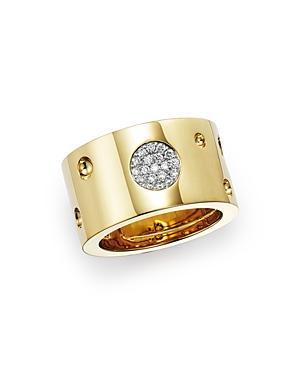 Roberto Coin 18k Yellow Gold Pois Moi Luna Ring