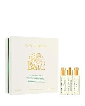Clive Christian Original Collection 1872 Feminine Travel Refill Vial Set