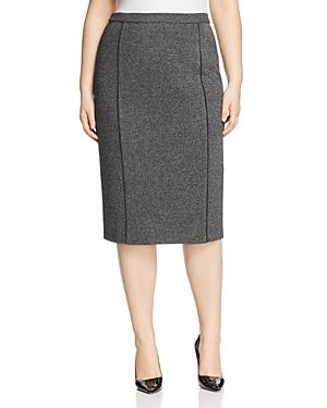 Marina Rinaldi Odette Jersey Pencil Skirt