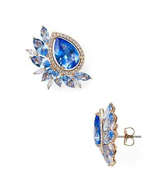 Nadri Cluster Earrings