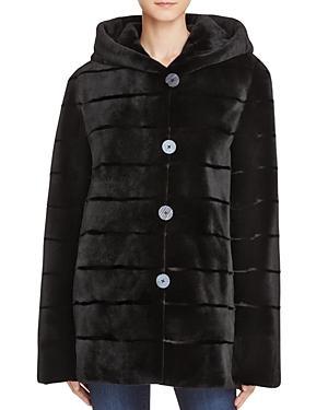 Maximilian Furs Reversible Sheared Mink Coat - Bloomingdale's Exclusive