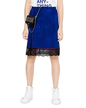 Zadig & Voltaire Jillian Silk-jacquard Skirt