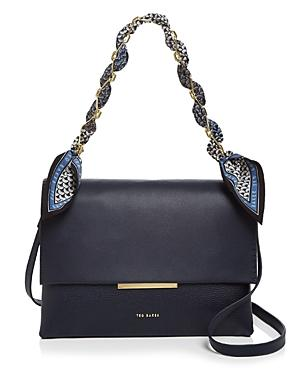Ted Baker Evangli Small Leather Shoulder Bag