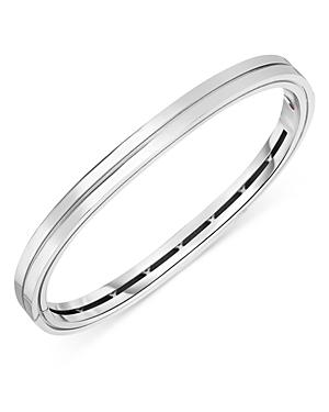 Roberto Coin 18k White Gold Portofino Bangle Bracelet
