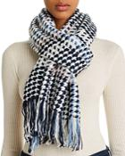 Echo Multicolored Houndstooth Scarf