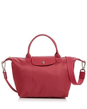 Longchamp Le Pliage Neo Small Nylon Satchel