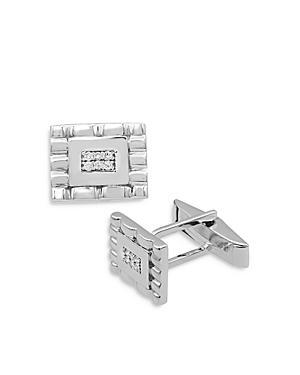Bloomingdales Diamond Cufflinks In 14k White Gold - 100% Exclusive