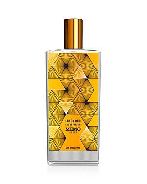 Memo Paris Luxor Oud Eau De Parfum 2.5 Oz.