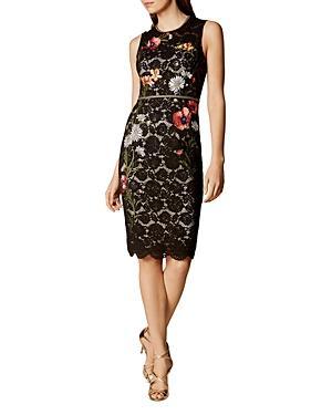 Karen Millen Embellished Sheath Dress