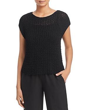 Eileen Fisher Petites Cap-sleeve Sweater