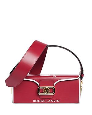 Lanvin Pencil Clasp Box Bag