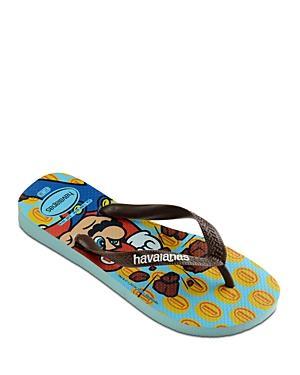 Havaianas Men's Mario Bros. Print Flip Flops