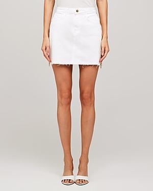 L'agence Allegra Side Zip Mini Skirt
