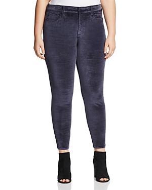 Nydj Plus Ami Velvet Skinny Legging Jeans In Prussian Navy- 100% Exclusive