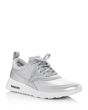 Nike Air Max Thea Metallic Lace Up Sneakers
