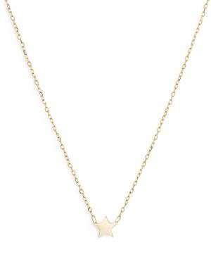 Adina Reyter 14k Yellow Gold Puffy Star Pendant Necklace, 16