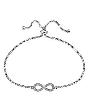 Marc & Marcella X Bloomingdale's Diamond Pave Infinity Adjustable Bracelet In Sterling Silver, 0.31 Ct. T.w. - 100% Exclusive