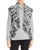 Sioni Eyelash Knit Vest