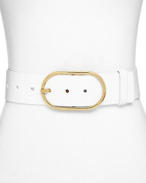 Frame Grand Oval Women's Leather Belt