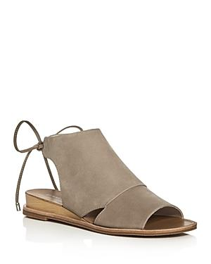 Kenneth Cole Jayda Back Tie Demi Wedge Sandals