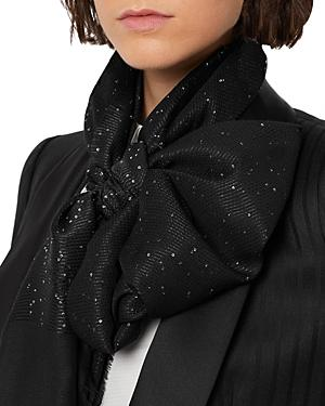 Armani Shimmer Micro Sequins Scarf