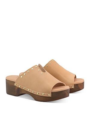 Ancient Greek Sandals Women's Sagini Studded Clogs
