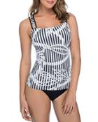 Profile By Gottex Bamboo D-cup Tankini Top