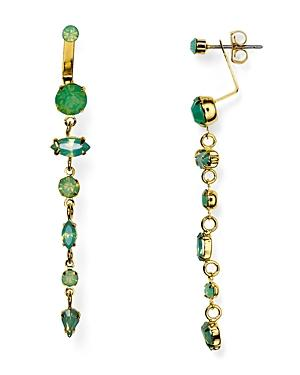 Jules Smith Belle Swarovski Crystal Front-back Earrings