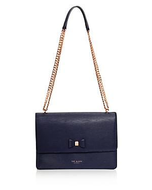 Ted Baker Delila Medium Bow Detail Leather Crossbody - 100% Exclusive