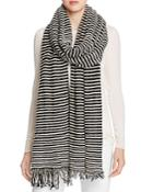 Donni Charm Long Ribbed Knit Scarf