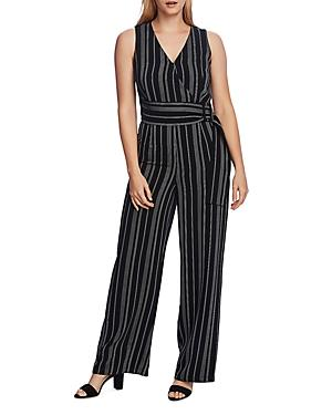Vince Camuto Yarn-dyed Striped Jumpsuit