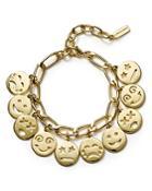 Baublebar Smiley Charm Bracelet