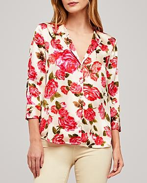 L'agence Aoki Floral Blouse